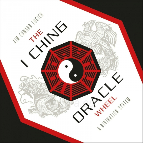 Kortos The I Ching Oracle Wheel būrimo lenta Paveikslėlis 3 iš 3 310820217284