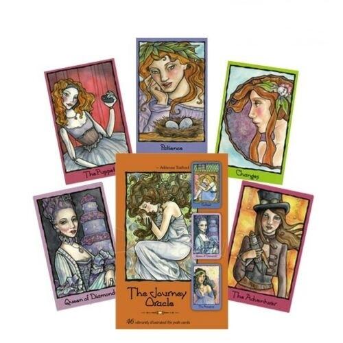 Kortos The Journey Oracle Paveikslėlis 1 iš 9 310820217290