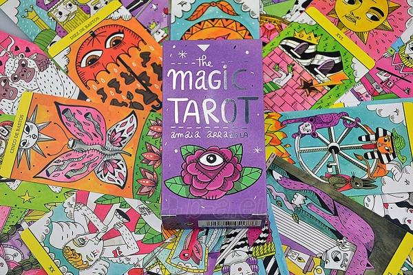 Kortos The Magic Tarot Paveikslėlis 2 iš 7 310820217191
