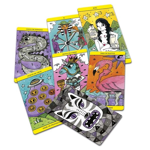 Kortos The Magic Tarot Paveikslėlis 4 iš 7 310820217191