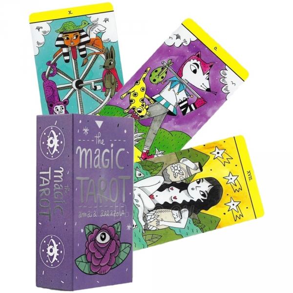 Kortos The Magic Tarot Paveikslėlis 5 iš 7 310820217191