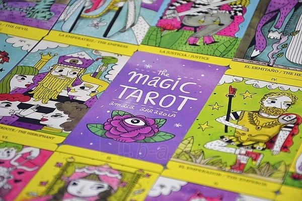 Kortos The Magic Tarot Paveikslėlis 6 iš 7 310820217191