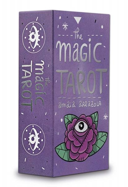 Kortos The Magic Tarot Paveikslėlis 7 iš 7 310820217191