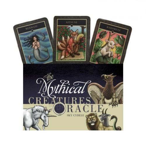Kortos The Mythical Creatures Oracle Paveikslėlis 1 iš 7 310820217245