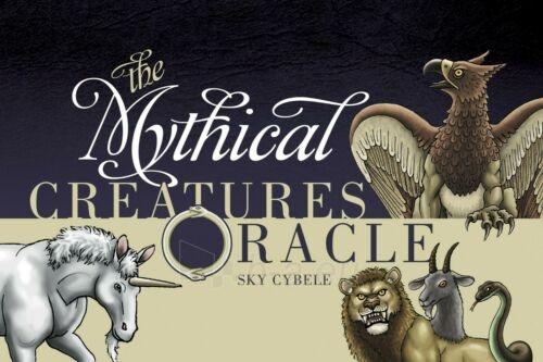 Kortos The Mythical Creatures Oracle Paveikslėlis 2 iš 7 310820217245