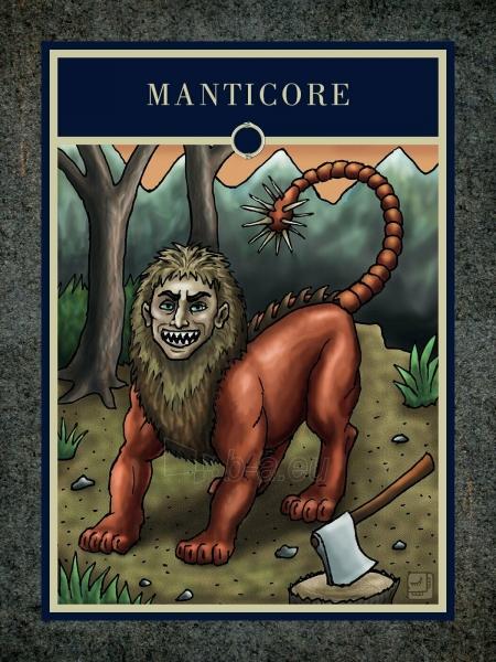 Kortos The Mythical Creatures Oracle Paveikslėlis 6 iš 7 310820217245