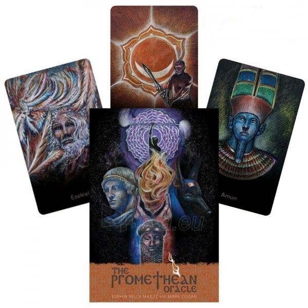 Kortos The Promethean Oracle Paveikslėlis 1 iš 7 310820217244