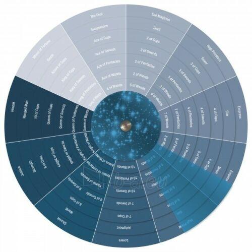 Kortos The Tarot Wheel būrimo lenta Paveikslėlis 3 iš 4 310820217285