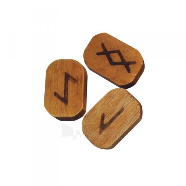 Kortos Wooden runos (medinės) Paveikslėlis 3 iš 4 310820217327