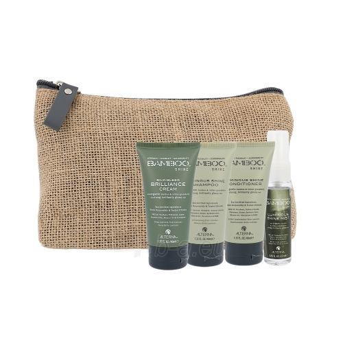 Kosmetikos rinkinys Alterna Bamboo Shine On The Go Travel Kit Cosmetic 145ml Paveikslėlis 1 iš 1 310820039476