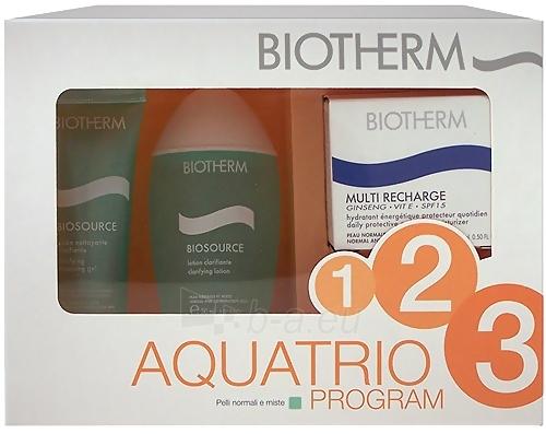 Kosmētikas komplekts Aquatris Biotherm Multi Recharge 65ml Paveikslėlis 1 iš 1 2508200000050