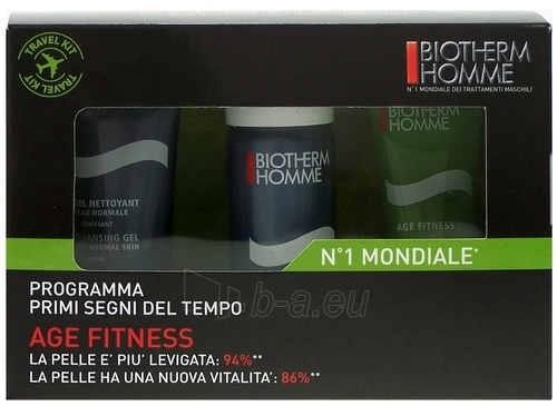 Cosmetic Kit Biotherm Homme Age Fitness Travel Kit 110ml Paveikslėlis 1 iš 1 2508200000085