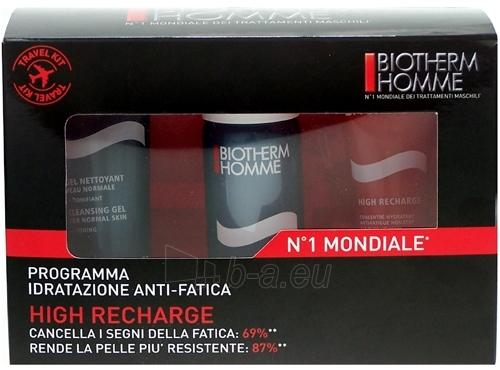 Kosmetikos rinkinys Biotherm Homme Travel Kit High Recharge  110ml Paveikslėlis 1 iš 1 2508200000087