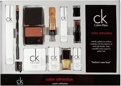 Calvin Klein kosmētikas kolekcija Color Warm 34,95g Attraction Paveikslėlis 1 iš 1 2508200000108