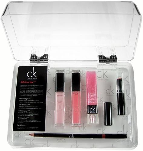 Kosmētikas komplekts Calvin Klein Delicious Lip Pink 29,95 g Paveikslėlis 1 iš 1 2508200000110