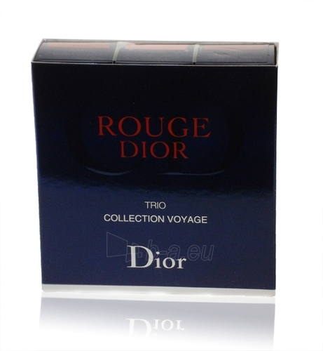 Kosmētikas komplekts Christian Dior Rouge Dior Trio Set 10,5g Paveikslėlis 1 iš 1 2508200000143