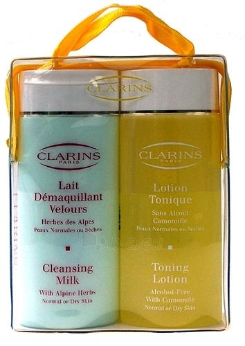 Cosmetic set Clarins Cleansing Duo Dry 200ml Paveikslėlis 1 iš 1 2508200000145