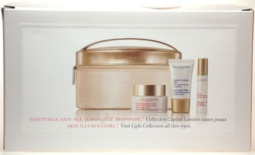 Kosmētikas komplekts Clarins Vital Light Collection 75ml Paveikslėlis 1 iš 1 2508200000153