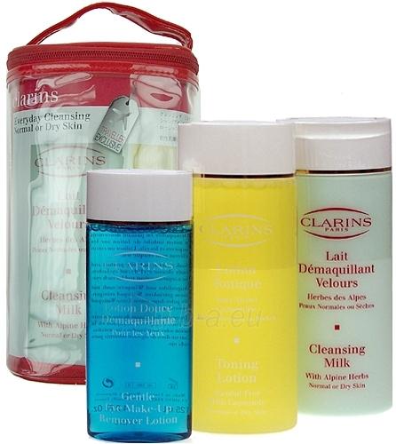 Cosmetic set Clarins Cleansing Everyday Normal, Dry Skin 525mL Paveikslėlis 1 iš 1 2508200000157