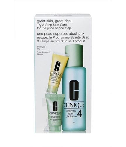 Cosmetic Kit Clinique 3 Step Skin Care Oily Skin 245ml Paveikslėlis 1 iš 1 2508200000824