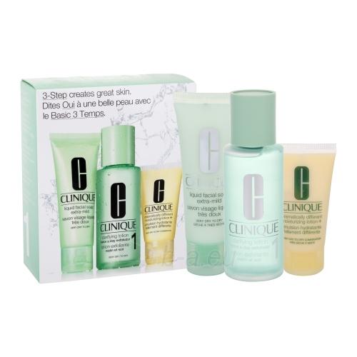 Kosmetikos rinkinys Clinique 3step Skin Care System1  50ml Paveikslėlis 1 iš 1 2508200000187