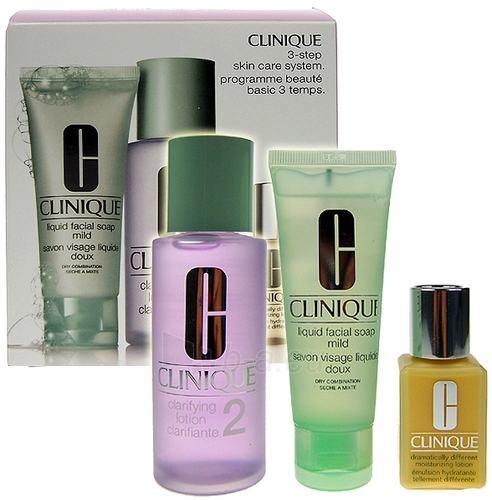 Cosmetic Kit Clinique 3 Step Skin Care System2 50ml (damaged packaging) Paveikslėlis 1 iš 1 2508200000682