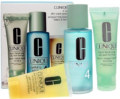 Cosmetic Kit Clinique 3 Step Skin Care System 4 180ml Paveikslėlis 1 iš 1 2508200000190
