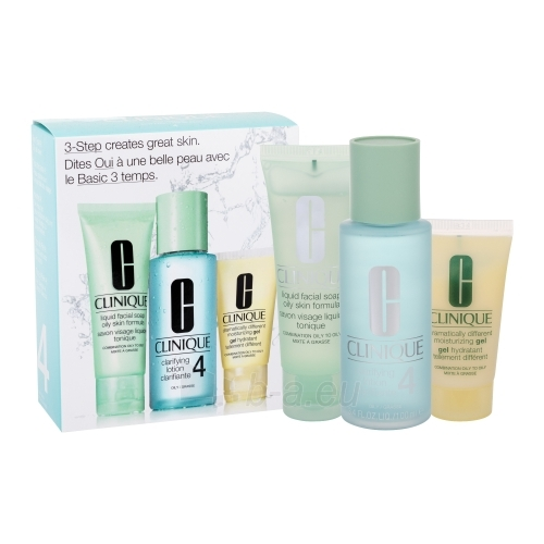 Kosmetikos rinkinys Clinique 3step Skin Care System4  50ml Paveikslėlis 1 iš 1 2508200000191