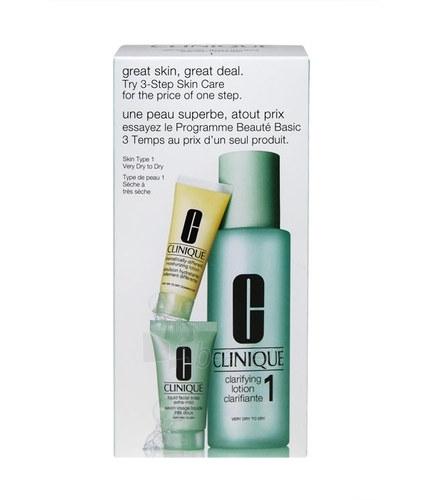 Kosmētikas Kit Clinique 3 Step Skin Care Very Dry Skin 245ml Paveikslėlis 1 iš 1 2508200000825