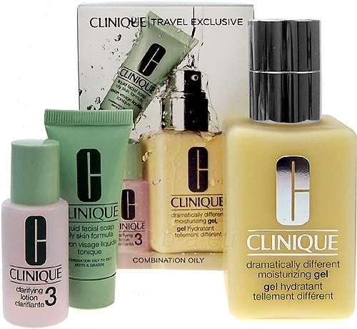 Kosmetikos rinkinys Clinique Travel Exclusive Combination Oily 155ml Paveikslėlis 1 iš 1 2508200000258