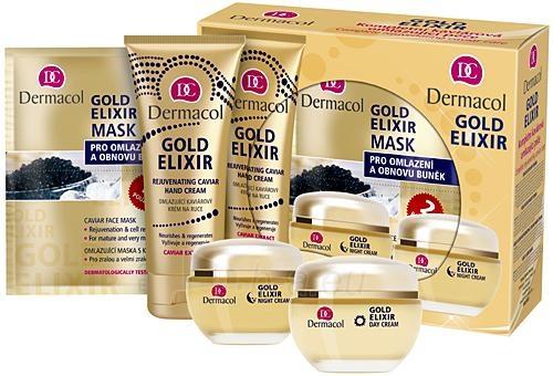 Kosmetikos rinkinys Dermacol Gold Elixir Caviar Complete Care Set 7740      191 ml Paveikslėlis 1 iš 1 2508200000594