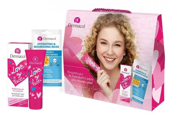 Kosmetikos rinkinys Dermacol Love My Face Brightening Care Day Cream 50ml Paveikslėlis 1 iš 1 310820161559