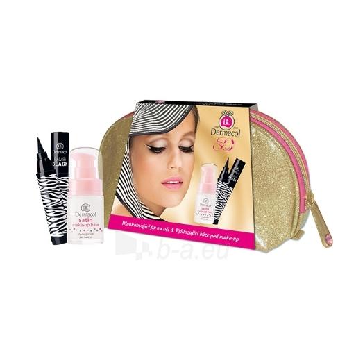 Cosmetic set Dermacol Satin Make-Up Base Duo Kit Cosmetic 17ml Paveikslėlis 1 iš 1 310820047623