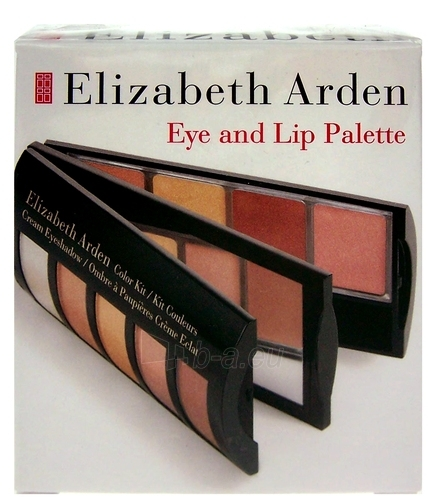 Cosmetic set Elizabeth Arden Eye And Lip Palette 9,07g Paveikslėlis 1 iš 1 2508200000315