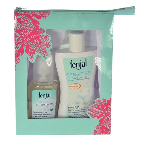 Cosmetic set Fenjal Sensitive Shower Cream Kit 2013 Cosmetic 275ml Paveikslėlis 1 iš 1 310820014991