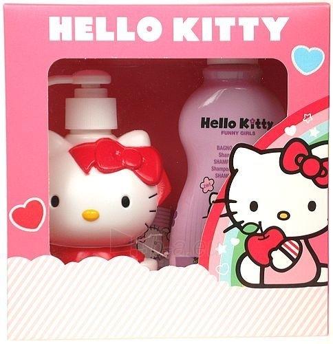 Kosmetikos rinkinys Hello Kitty Funny Girls 3D Set Strawberry  500ml Paveikslėlis 1 iš 1 2508200000020