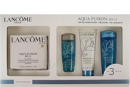Cosmetic set Lancome Aqua Fusion Gel Cream SPF 15 160 Paveikslėlis 1 iš 1 2508200000392