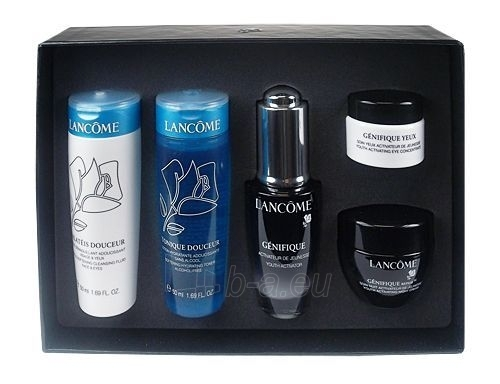 Cosmetic set Lancome Genifique Discovery Kit 140 ml Paveikslėlis 1 iš 1 2508200000403