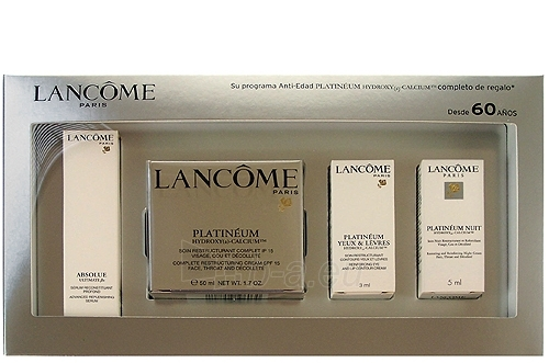 Kosmetikos rinkinys Lancome Platineum Hydroxy (a) Calcium Face Throat and Deco  68ml Paveikslėlis 1 iš 1 2508200000452