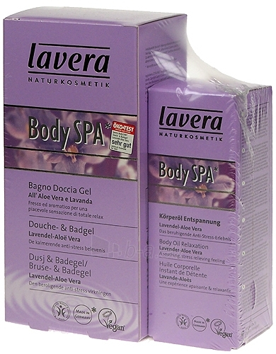 Cosmetic Kit Set Lavera Body Spa Body Oil Lavender Aloe Vera 250ml Paveikslėlis 1 iš 1 2508200000608