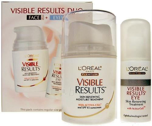Kosmetikos rinkinys L´Oreal Paris Visible Results Duo Face + Eyes  60,5ml Paveikslėlis 1 iš 1 2508200000470