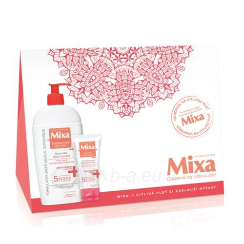 Kosmetikos rinkinys Mixa Cold Cream Paveikslėlis 1 iš 1 310820058439