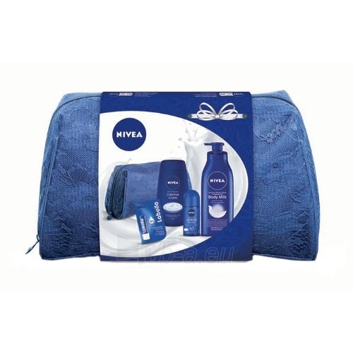 Kosmetikos komplekts Nivea Body Milk Nourishing Kit Cosmetic 705,5ml Paveikslėlis 1 iš 1 310820050043