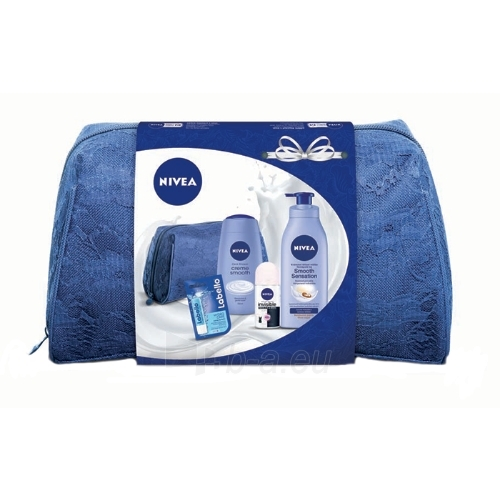 Cosmetic set Nivea Body Milk Smooth Sensation Kit Cosmetic 705,5ml Paveikslėlis 1 iš 1 310820050044