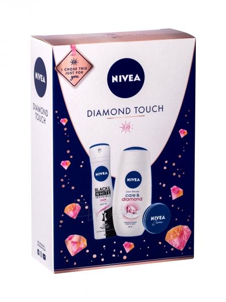 Kosmetikos rinkinys Nivea Care & Diamond Shower Cream 250ml Paveikslėlis 1 iš 1 310820194778
