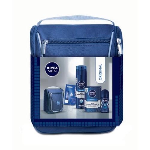 Kosmetikos komplekts Nivea Men Mild After Shave Balm Kit Cosmetic 355,5ml Paveikslėlis 1 iš 1 310820050056