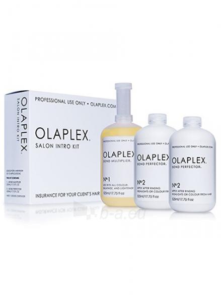 Kosmetikos rinkinys Olaplex Set (Salon Intro Kit) 3 x 525 ml Paveikslėlis 1 iš 1 310820091895