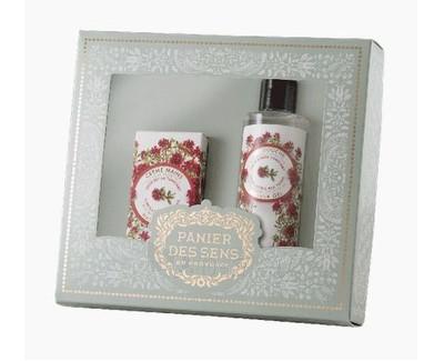 Cosmetic set Panier des Sens Červený tymiándušo žele 250 ml + rankų kremas 75 ml Paveikslėlis 1 iš 1 310820069782