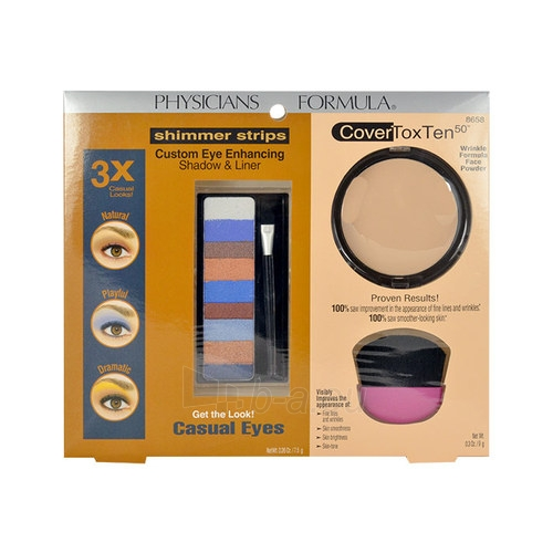 Cosmetic set Physicians Formula Casual Eyes Kit Cosmetic 16,5g Paveikslėlis 1 iš 1 310820003275