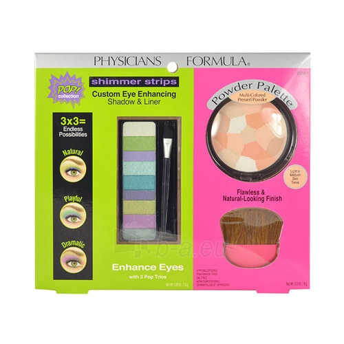 Cosmetic set Physicians Formula Enhance Eyes Kit Cosmetic 16,5g Paveikslėlis 1 iš 1 310820003145